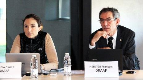 Carine Garcia et François Hervieu